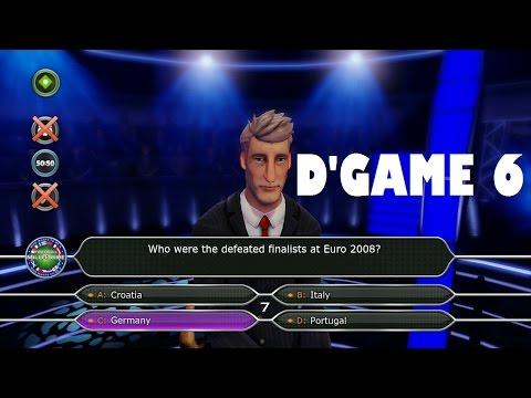Jadi Jutawan Baru Guys (Who Wants To Be A Millionaire) - DGame 6