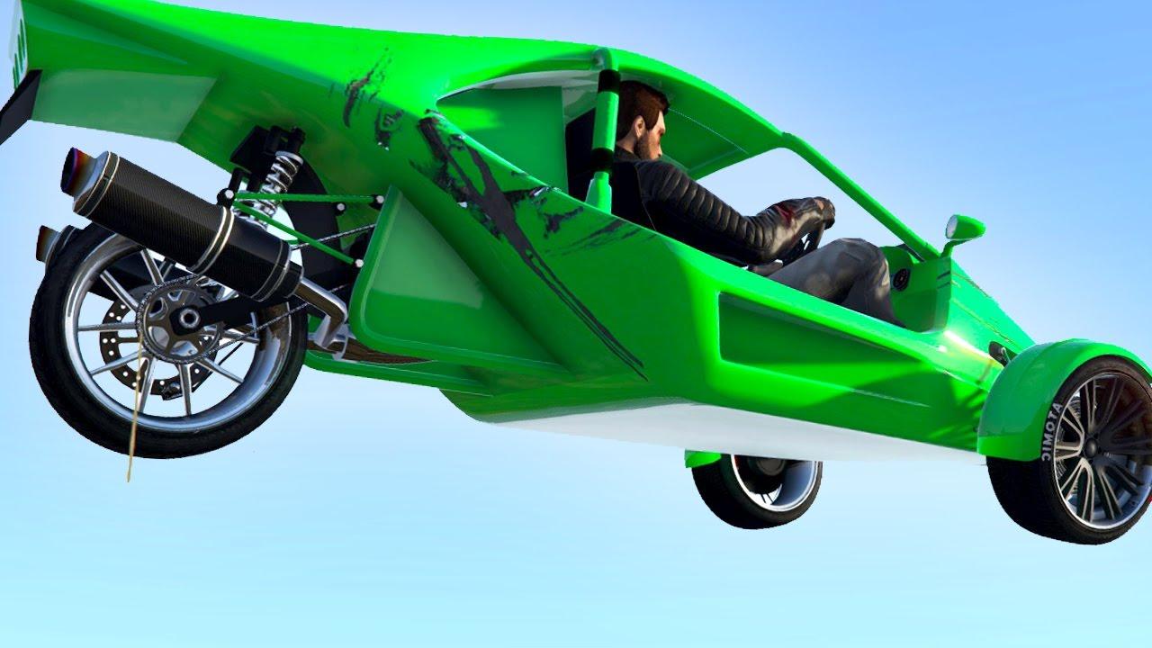 New Bike Car Vehicle Gta 5 Funny Moments Youtube