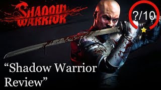 Shadow Warrior Review