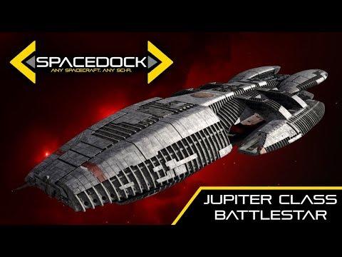 Battlestar Galactica: Jupiter Class Battlestar - Spacedock