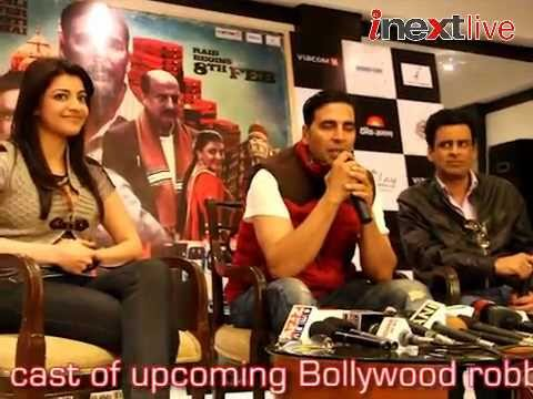 Special 26 star cast in varanasi for film promotion