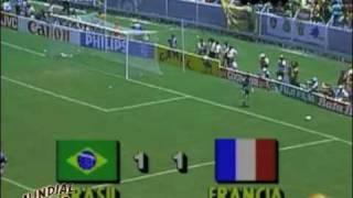Resumen Brasil vs Francia México 86 - Mundial Retro