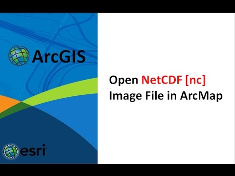 How to open netcdf nc file in arcgis, make netcdf raster layer tool, nc view