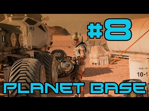 Planetbase - Trading Ships! #8