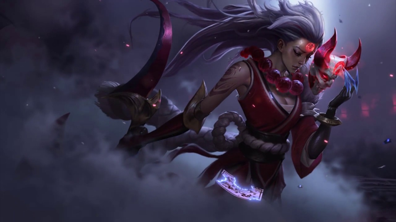 Lol Blood Moon Diana Animated Wallpaper Youtube