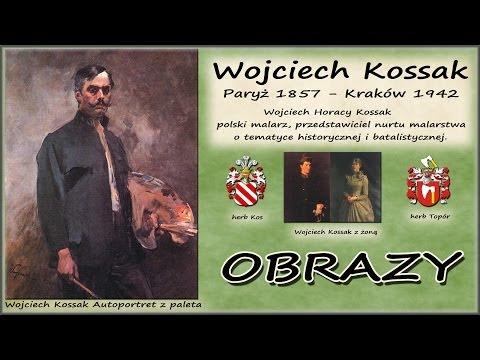 Wojciech Kossak - Obrazy