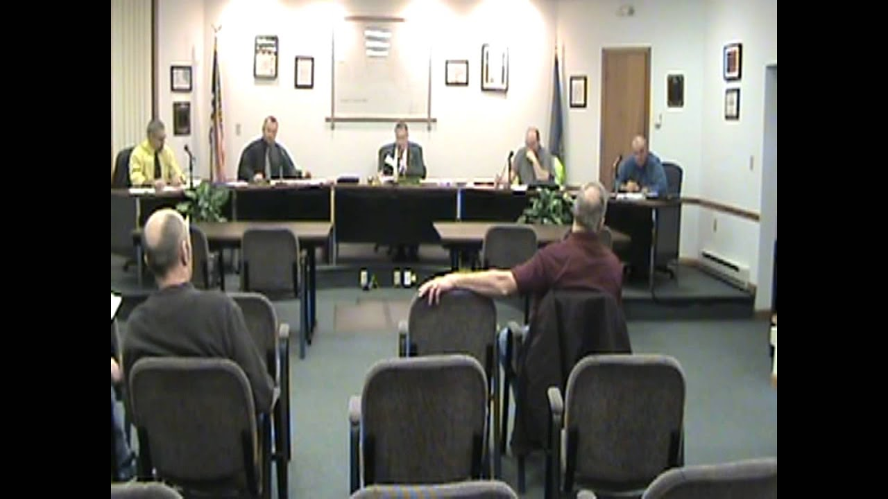 Rouses Point Village Board Meeting  3-21-16