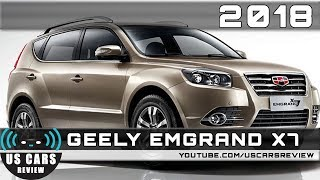 2018 GEELY EMGRAND X7 Review