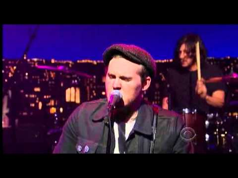 The Gaslight Anthem - Bring It On (live on the Late Show with David Letterman)
