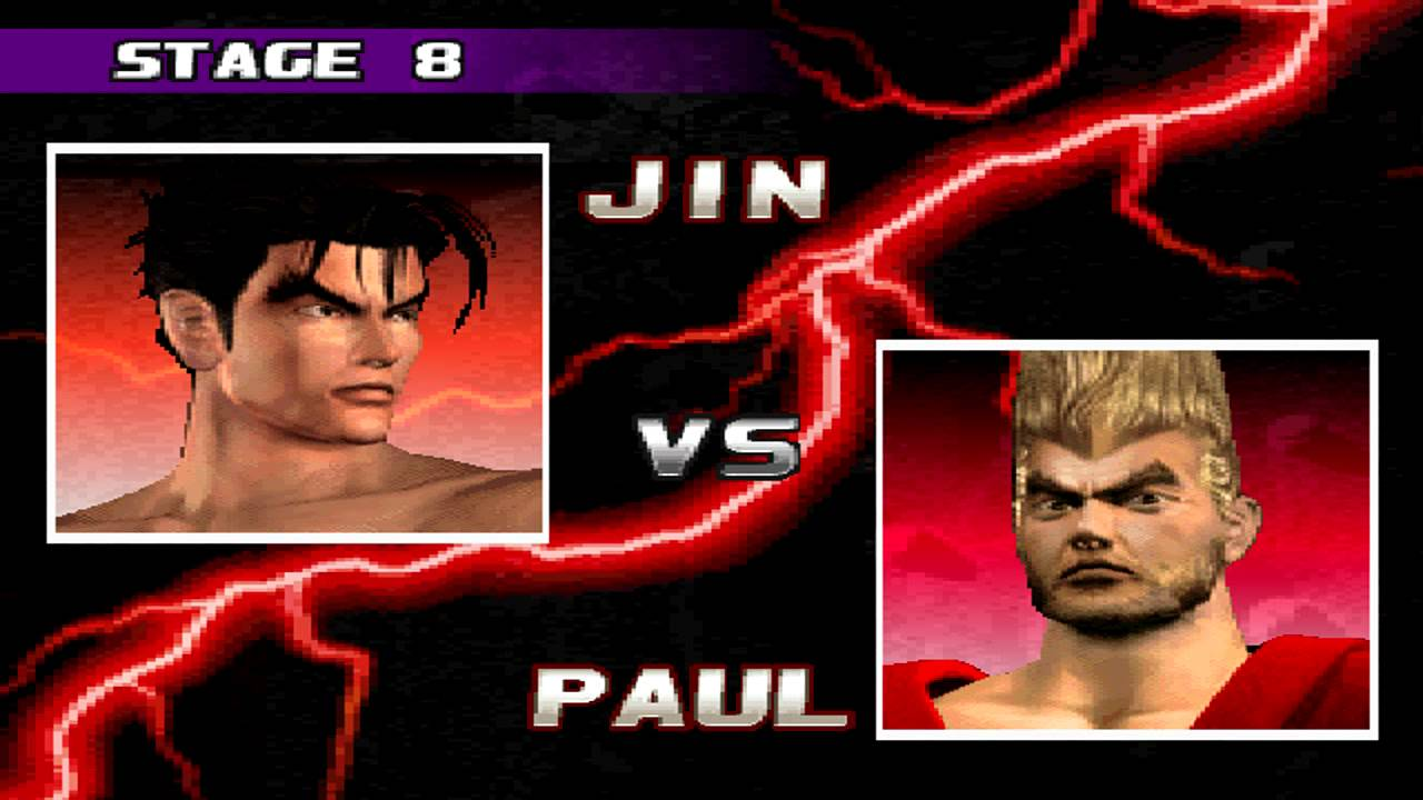 Tekken 3 Hd Hq 100 Walkthrough Jin Kazama Youtube