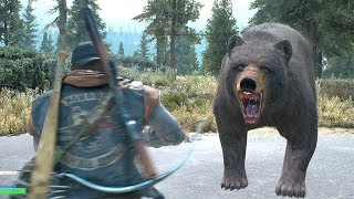 Days Gone Ep 26 Sherman's Camp is Crawling Liston Knife & Searching For Lisa PS4 PRO 4k