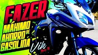 Ahorra muchísima gasolina para moverte en la ciudad FAZER 2.0 2016 Review / Motovlog