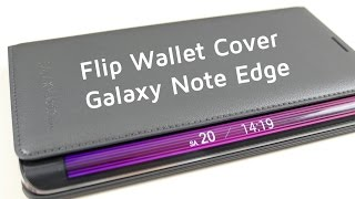 Galaxy Note Edge: Flip Wallet Cover genau angeschaut | AppDated
