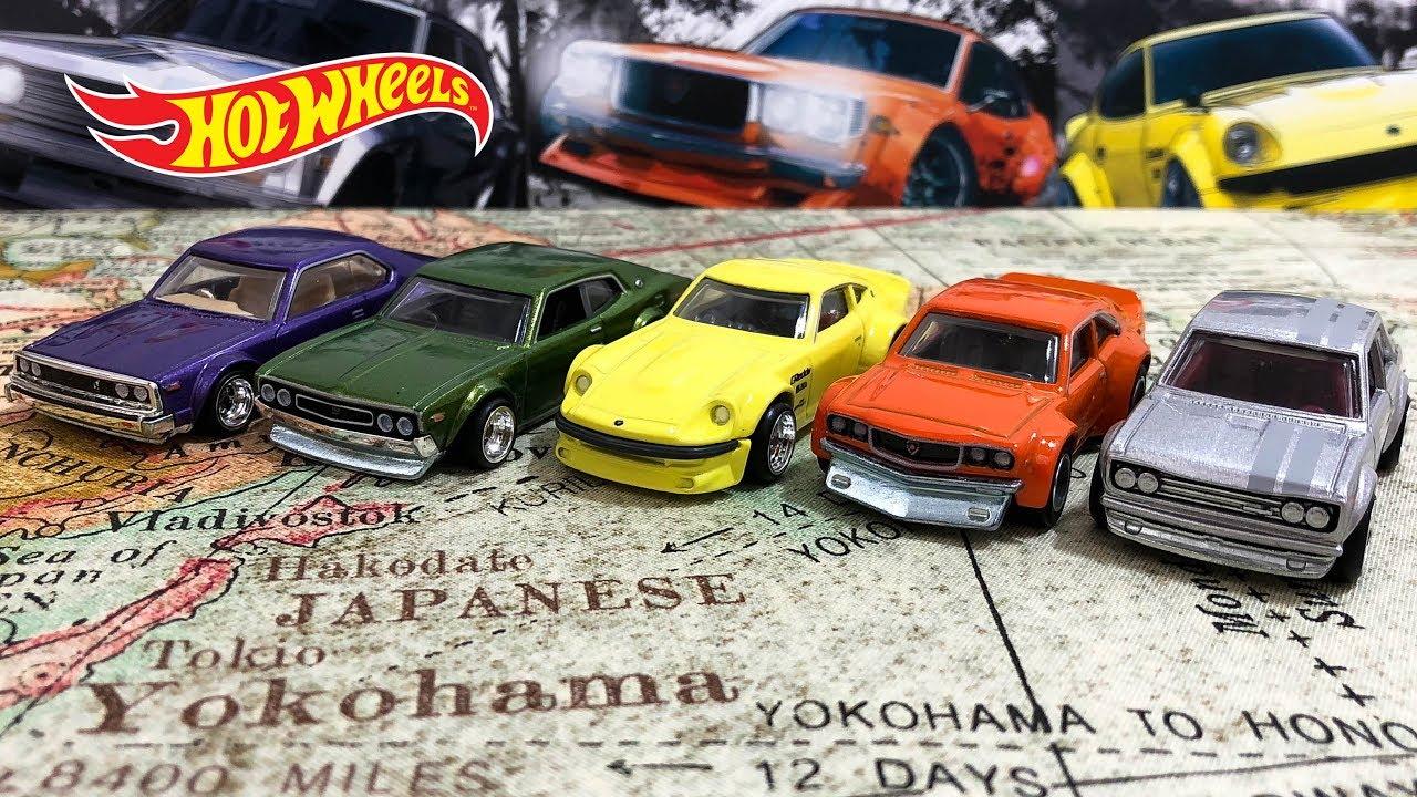 Opening Hot Wheels Japan Historics 2 Car Culture Series ...