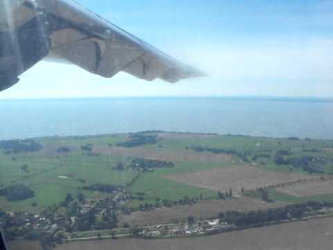 Jetair ATR 42-300 landing in Heringsdorf (HDF/EDAH)