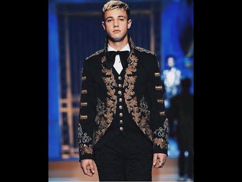 Cameron Dallas in Milan @Dolce & Gabbana  FashionShow !!!