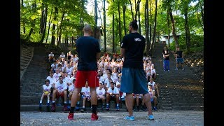 "Bulut's visit to ""I came to play"" camp"