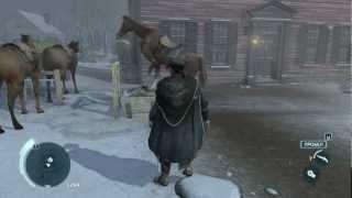 конь насилует стог сена в Assasins Creed III