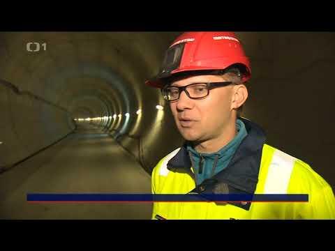 Tunely Ejpovice   reportáž ČT 7.10.2017 Události
