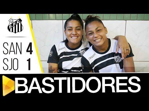 Sereias da Vila 4 x 1 São José | BASTIDORES | Brasileirão (25/04/17)