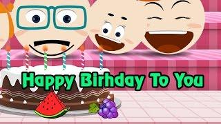 Happy birthday to you - Family style - Nhạc thiếu nhi hay, học tiếng Anh qua bài hát
