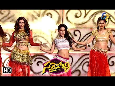 Varshni,Vishnupriya Dance Performance | Sarrainollu | ETV Dasara Special Event | 18th Oct 2018