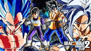 Dragon Ball Xenoverse 2 GT x Super Pack 1 - Vegeta & Goku (NEW COSTUMES & ALL TRANSFORMATIONS)