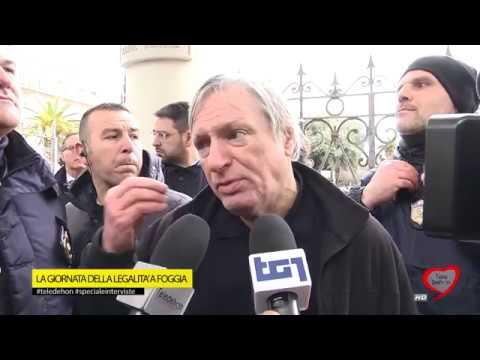 Speciale interviste - La giornata della legalità a Foggia