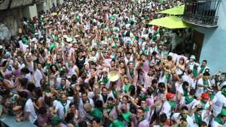 Danza de las espadas - San Lorenzo - Fiestas de Huesca del 9 al 15 de Agosto - Chupinazo