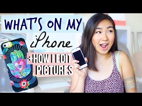 How I Edit my Instagram Photos + What's on my iPhone | JENerationDIY