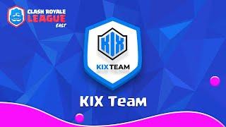 【クラロワリーグ イーストチームショー】全チームを紹介!KIX編
