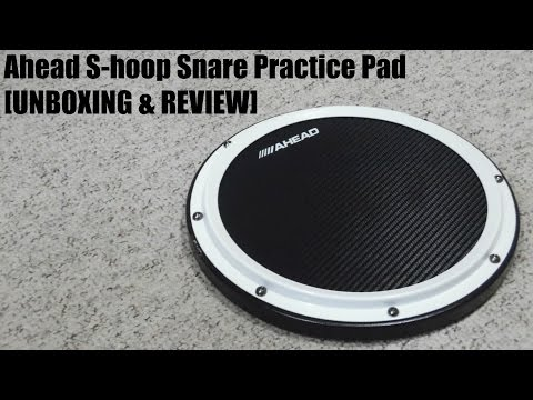 Ahead S-hoop Snare Practice Pad [UNBOXING & REVIEW]