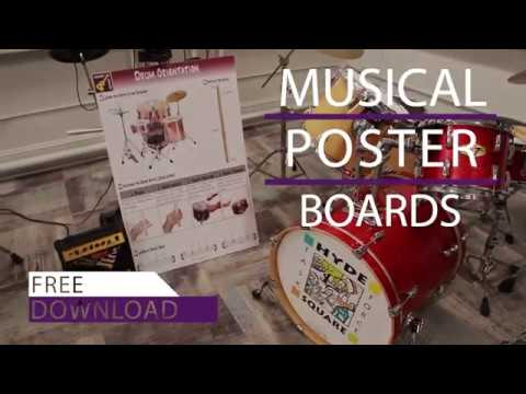 Musical Poster Boards
