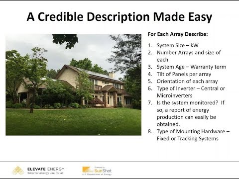 Solar Valuation for Appraiser Regulators