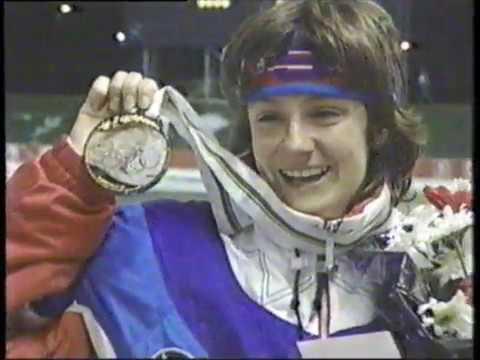 1992 Winter Olympics - Women's 1000 Meter Speed Skating