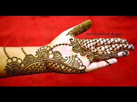 Beautiful Easy Simple Trendy Henna Mehndi Designs For Hands Matroj