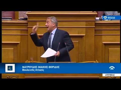 Μάκης Βορίδης: «Μόνος στρατηγικός μας αντίπαλος μένει το ΚΚΕ»