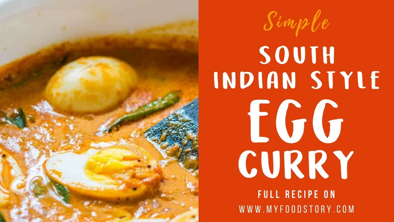 South Indian Style Egg Curry Recipe (Kerala style)