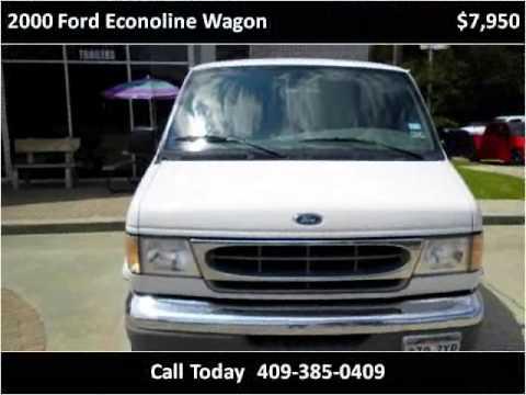 Silsbee Motor Company >> 2000 Ford Econoline Wagon Used Cars Silsbee,Lumberton,Beaumo - YouTube