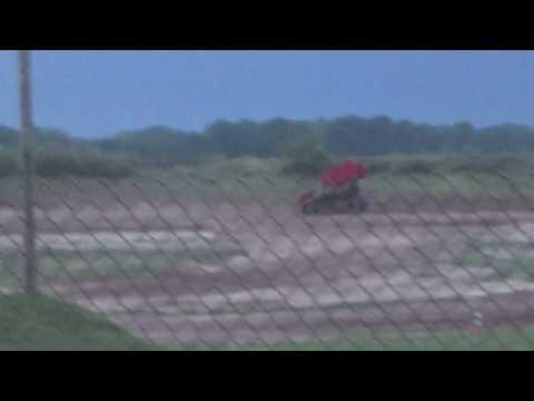 Paradise Speedway Brandyn Griffin practice 4 8/2/17