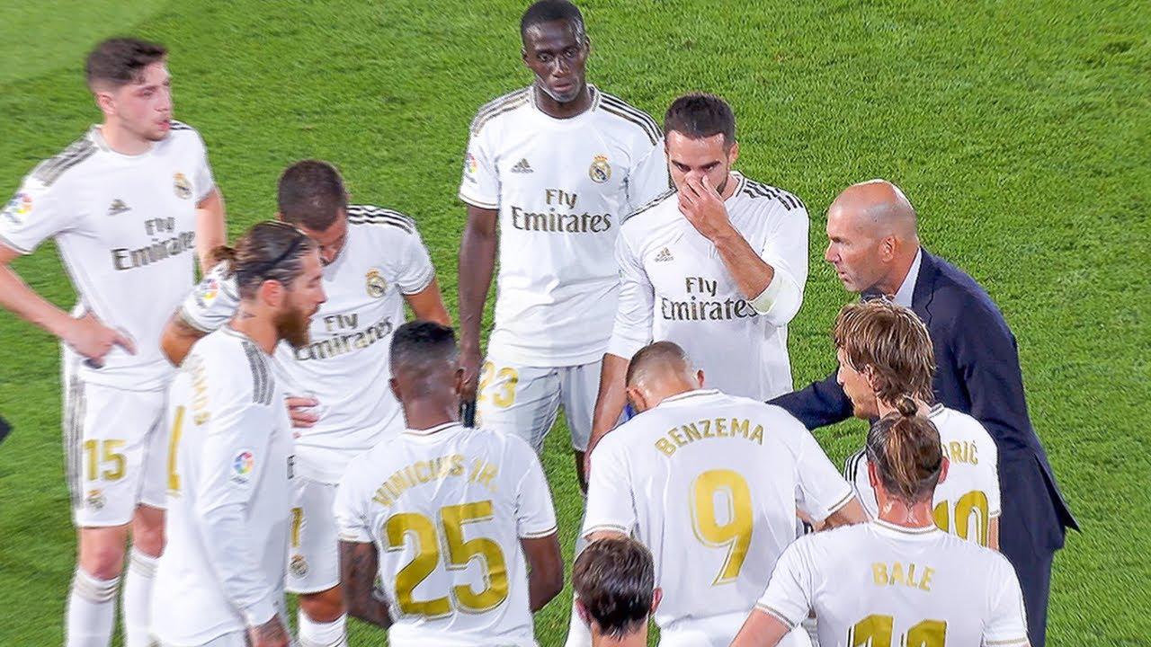 Zidane TRANSFORMING Real Madrid - YouTube