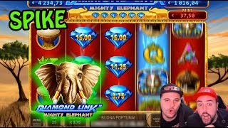 Let's try DIAMOND LINK - MIGHTY ELEPHANT!