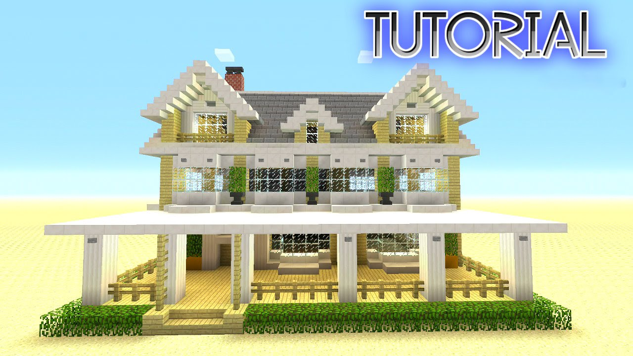 Minecraft How To Build A Suburban House Minecraft Berch House