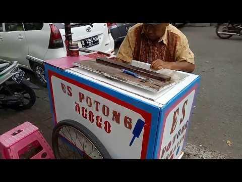 Jakarta Street Food - Es Potong - Indonesia Culinary