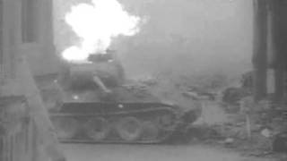 ww2 german panther tank footage