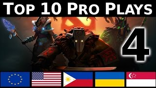 Dota 2 Top 10 Pro plays 4 - WOMBO COMBO !