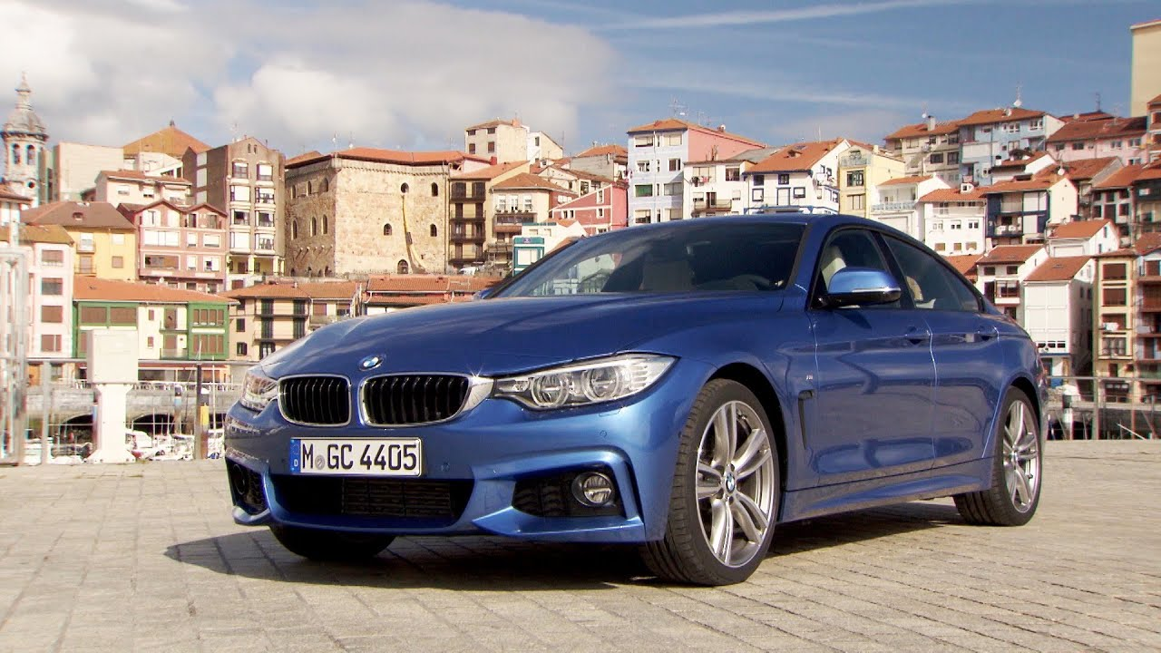 2015 bmw 4 series gran coup with m sport package youtube. Black Bedroom Furniture Sets. Home Design Ideas