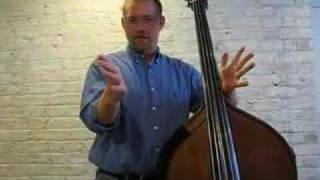 Andrew Anderson Teaches the Double Bass - Part 1