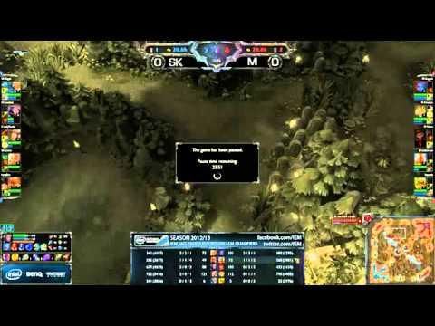 SK vs Millenium, EU Qualifier for IEM Sao Paulo. Game 1