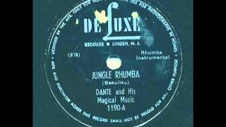 Dante & his Magical Music - Jungle Rhumba - De Luxe Records 1190
